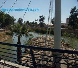 Pasarela Manterola Murcia Rio Segura 300x265 El río Segura, un 90% más limpio que en el año 2000