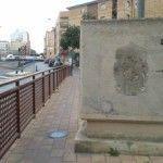 Desaparece un escudo del barrio San Pio X en Murcia