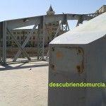 Se construye el Puente Nuevo o Puente de Hierro sobre el Segura