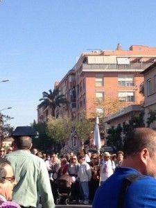 Romeria Virgen Fuensanta Murcia vias del tren 225x300 Hasta la Virgen de la Fuensanta pide el soterramiento de las vías