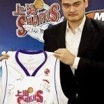 Los Shanghai Sharks de Yao Ming y su gira murciana