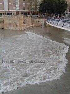 crecida rio segura murcia 225x300 Cuando el río Segura, se sale de madre...