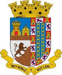 Escudo de Jumilla Don Fadrique, el león rampante y las dos escaleras del escudo de Jumilla