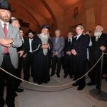 Gran Rabino Israel visita Sinagoga Castillo Lorca