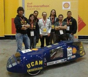 UCAM Racing Team Shell Eco Marathon 300x263 El UCAM Racing Team correrá en la Shell Eco Marathon