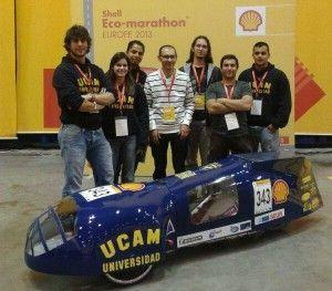 UCAM Racing Team Shell Eco Marathon 300x263 El UCAM Racing Team correrá en la Shell Eco Marathon