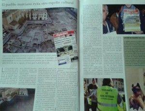 Yacimiento San Esteban Murcia El yacimiento de San Esteban, una batalla ganada por los murcianos