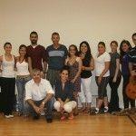 Alumnos Dominican University California aprenden flamenco Murcia