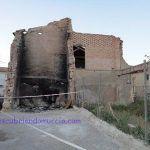 Se desploma el Molino del Caballero en Puebla de Soto