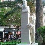 El monumento a Ricardo Codorniú vuelve a Santo Domingo