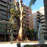 Se restaurará la escultura de Ricardo Codorniú en el jardín de Santo Domingo