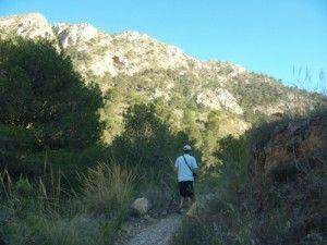 Barranco Algezares 300x225 Las minas y los hornos de yeso en la Sierra de las Moreras de Mazarrón