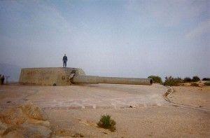Cabo Tinoso baterias Castillitos Cartagena Más sobre la Batería militar de Castillitos en Cabo Tiñoso