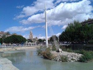 Pasarela Manterola Rio Segura Murcia 300x225 Proyecto LIFE Riverlink en el río Segura