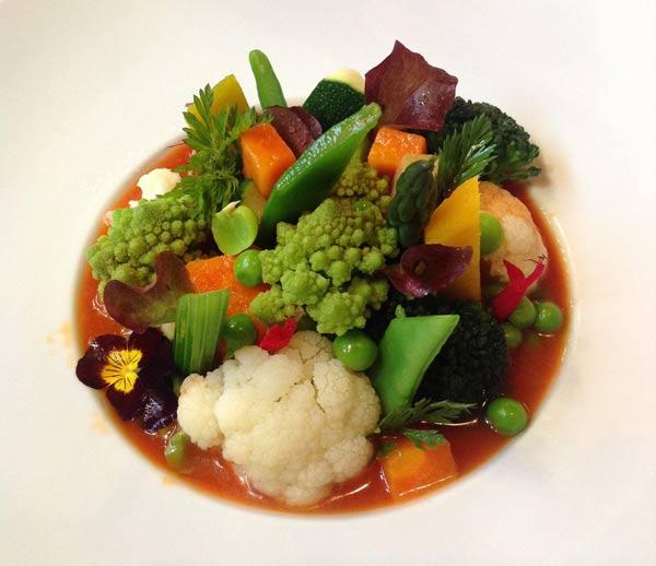 El rinc n de pepe nos presenta su menestra de verduras - Menestra de verduras en texturas ...