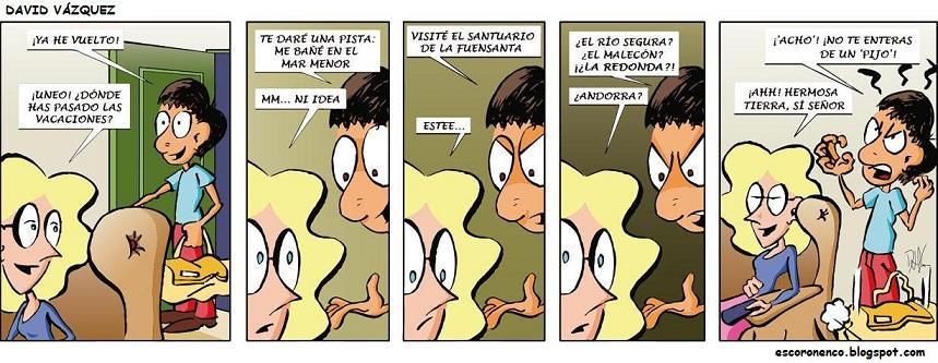 Comic Murcia Ven a Murcia, y algo se te pegará...