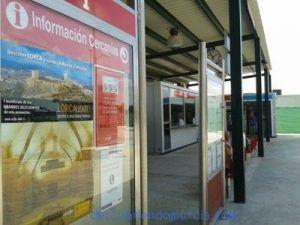 Lorca Taller del Tiempo Renfe 300x225 Lorca se promociona en las estaciones de tren de Alicante