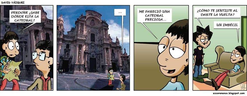 comic Murcia David Hernando La honestidad, un talismán para toda la vida