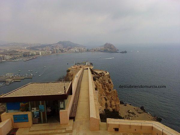 Aguilas Murcia Los ingleses atacan la torre de San Juan en Águilas