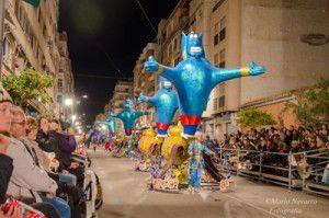 Carnaval Aguilas 300x199 Carnavales de Águilas una fiesta de Interés Turístico Nacional