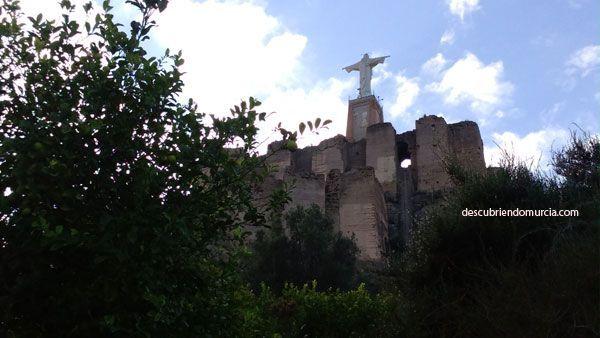 Castillo Monteagudo Murcia Rey Lobo. El sanguinario, perturbado y fornicador rey de Murcia