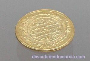 dinar Murcia 300x204 Taifa de Murcia, el reino islámico que dominó la Península Ibérica
