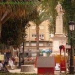 La reciclada estatua del Conde de Floridablanca