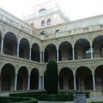 Claustro de La Merced. Actual Universidad de Murcia