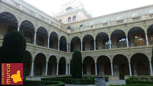Claustro Merced Murcia Un extraño cuadro en la Iglesia de La Merced de Murcia