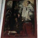 Un extraño cuadro en la Iglesia de La Merced de Murcia
