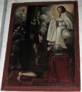 La Merced Murcia 270x300 Un extraño cuadro en la Iglesia de La Merced de Murcia