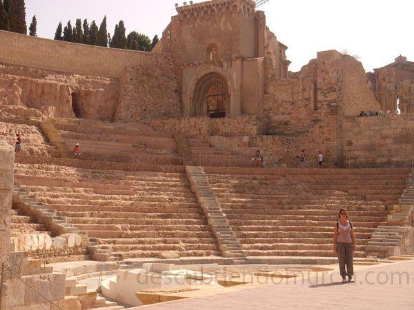 Teatro Romano Cartagena Teatro Romano Cartagena... ¿apareció por casualidad?