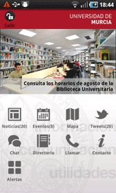 Universidad de Murcia App Universidad de Murcia App, imprescindible para universitarios