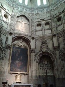 Capilla de los Velez 225x300 Alumbre en Mazarrón y la Capilla de Los Vélez en la Catedral
