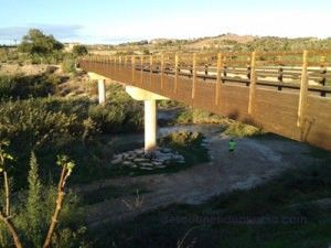 Contraparada rio Segura Murcia