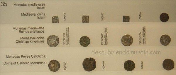 monedas museo arqua Monedas de oro y plata, tesoros en la Región de Murcia