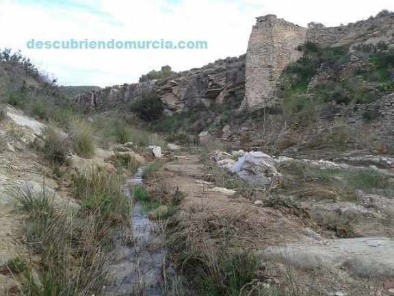 Molino Barinas Abanilla Murcia Un molino de 12 metros en el río Zurca, Barinas