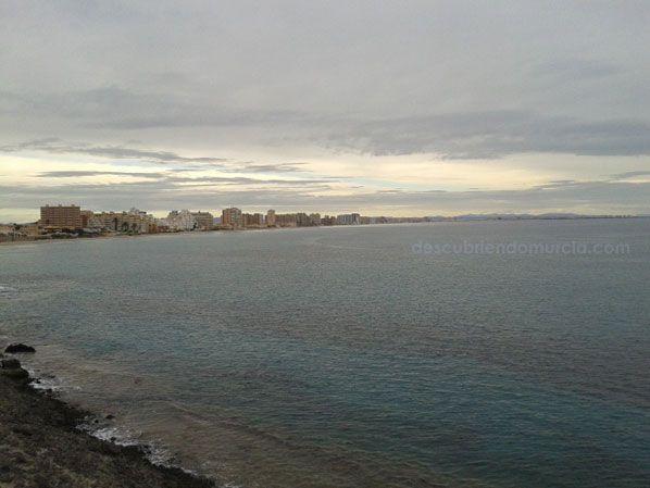 La Manga del Mar Menor La Manga del Mar Menor que surgió de los mares