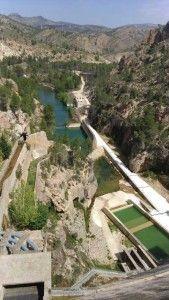 Pantano de la Fuensanta rio Segura 169x300 Pantano de La Fuensanta en el estrecho del Infierno