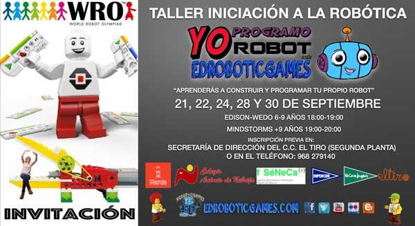 EdRoboticGames Murcia World Robot Olympiad WRO llega a la Región de Murcia