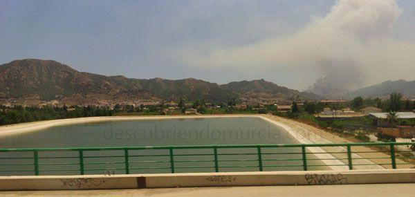 Incendio Garruchal Murcia Incendios forestales en Murcia. El Garruchal y Almadenes