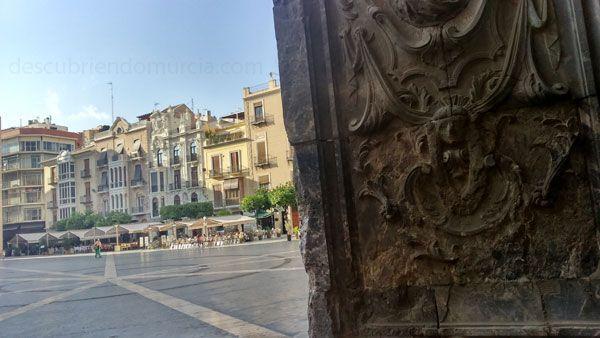 Plaza Cardenal Belluga Murcia La Catedral de Murcia, un trocito de la sierra El Valle Carrascoy
