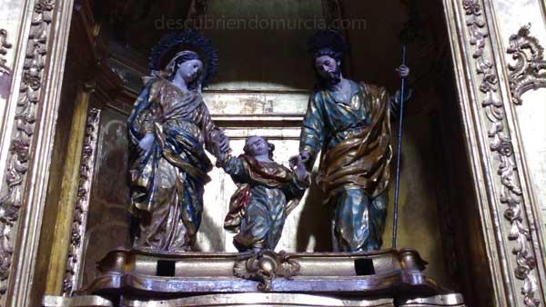 Sagrada Familia Salzillo La Sagrada Familia de Francisco Salzillo en Orihuela