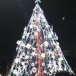 El árbol de Navidad más grande de Murcia