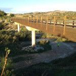 El puente de las ovejas en La Contraparada