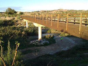 Puente Ovejas Contraparada Murcia 300x225 El puente de las ovejas en La Contraparada