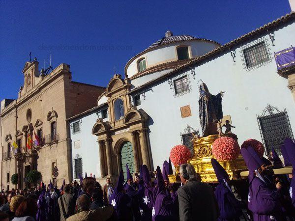 Dolorosa Salzillo Semana Santa Murcia Fotos del viernes santo y la mañana de Salzillo