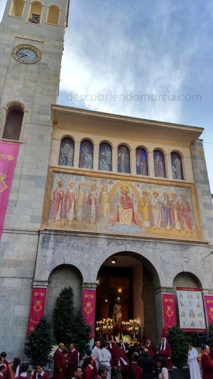Lunes Santo Murcia San Antolin Cofradía Cristo del Perdón de Murcia, San Antolín y la seda