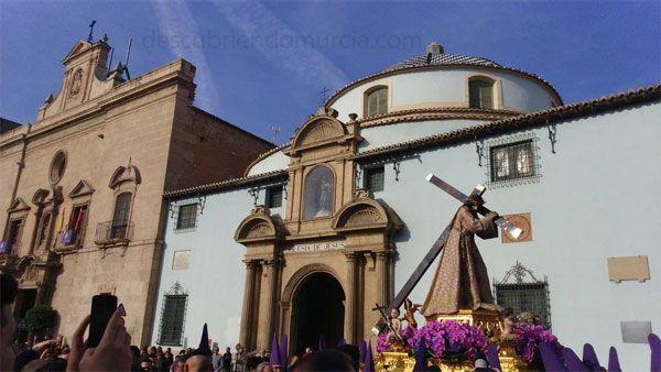 Nuestro Padre Jesus Murcia Nuestro Padre Jesús Nazareno de Murcia y su misterioso origen