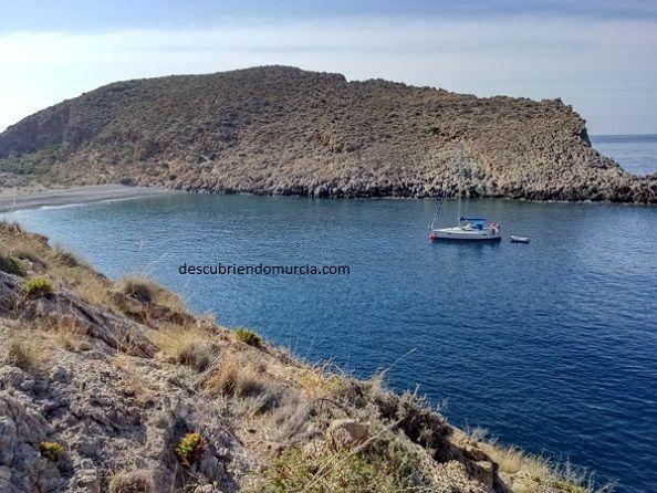 Cala Cerrada Cabo Tinoso Cartagena Cala Cerrada, una joya escondida en Cabo Tiñoso Cartagena